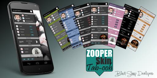 Tab-ooh Zooper Skin