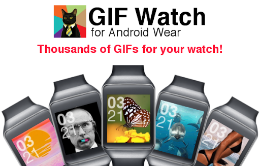 Android Wear GIF Watchface