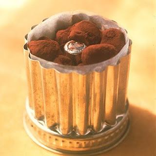 Chocolate Armagnac Truffles.