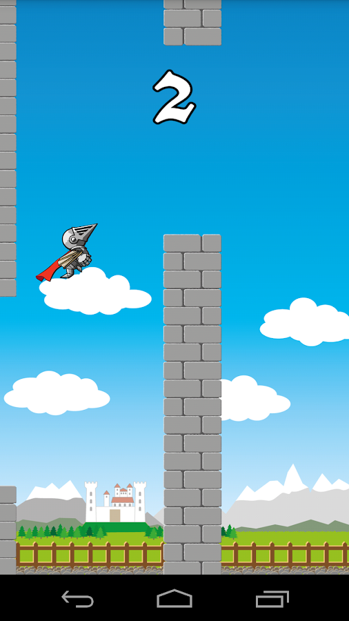 Flying Knight- screenshot