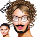 Face fun photo maker icon