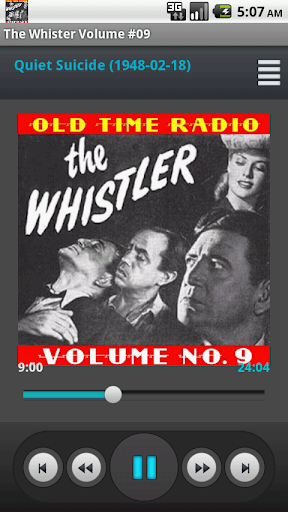 The Whistler Old Time Radio V9