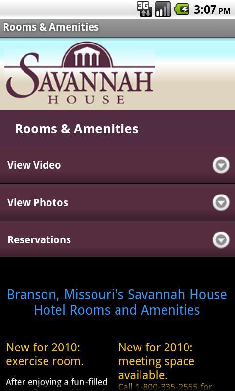 Savannah House- screenshot