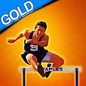 Hurdle Run and Jump Trophy +