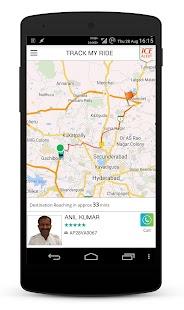 Meru Cabs - screenshot thumbnail