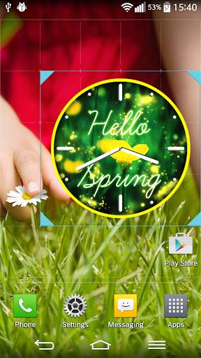 春天 時鐘