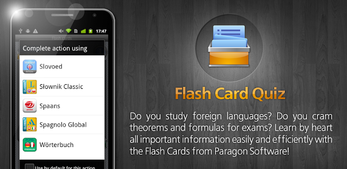 Flash Card Quiz