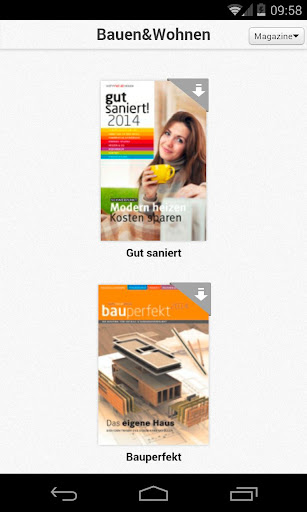 Bau Magazine Wohnnet.at