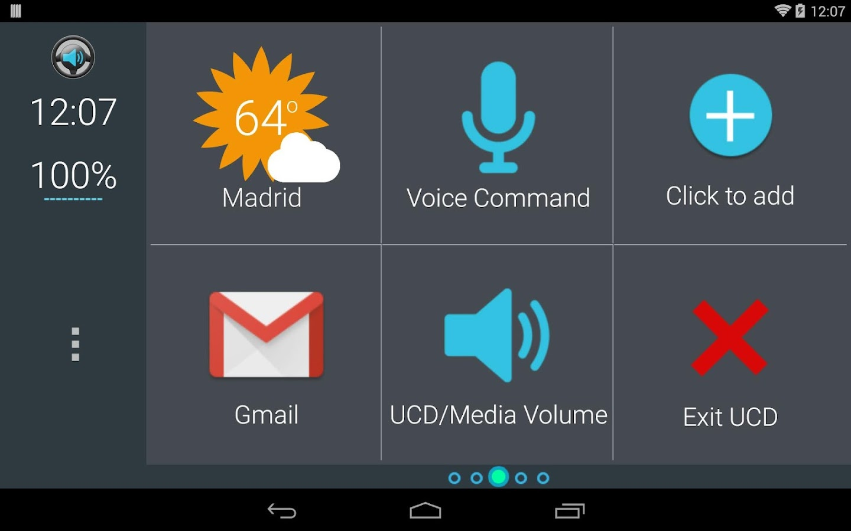 Ultimate Car Dock - Dashboard - screenshot