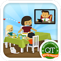Family Time video call games icon