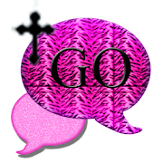 GO SMS THEME/PinkTigerCross