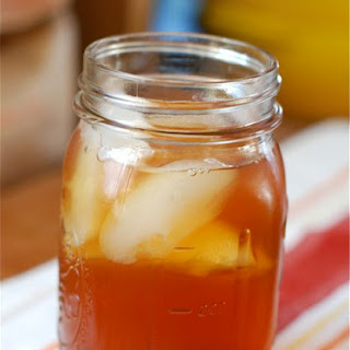 Roasted Peach Iced Tea {Powernap}