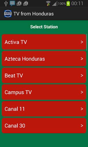 TV from Honduras