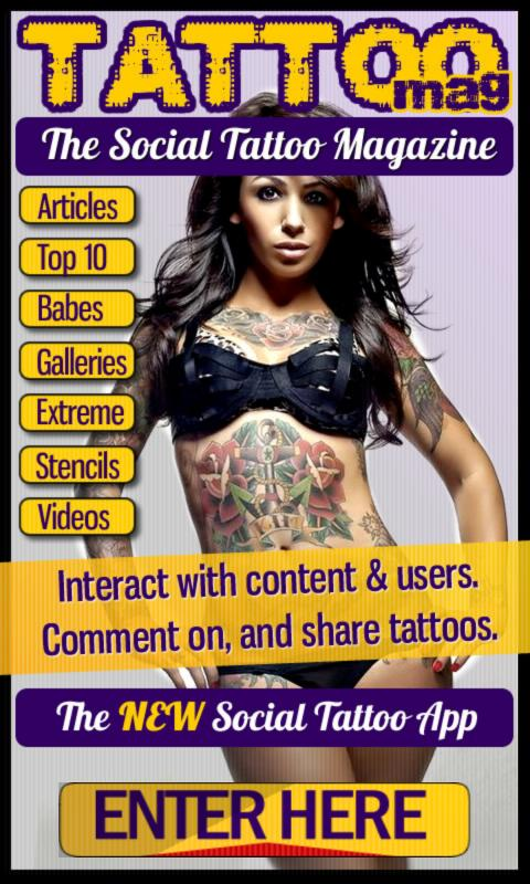 Tattoo Magazine Interactive - screenshot