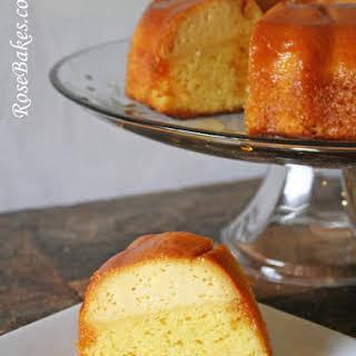 Mom's Flan Cake.