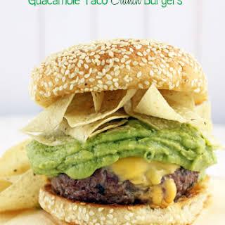 Guacamole Taco Crunch Burgers.