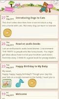 Screenshot of Teddy's Diary(Free)