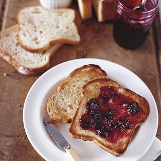 Blackberry-Bay Leaf Jam