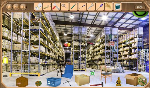 Warehouse Hidden Objects 1.0.7 screenshots 1