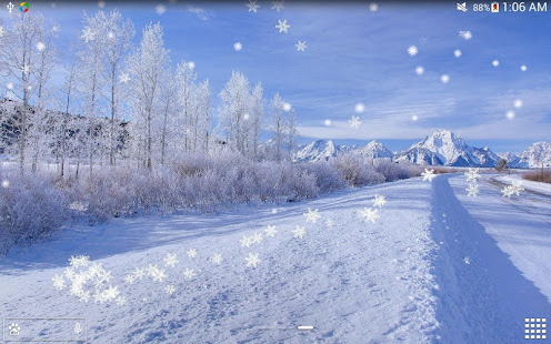 Winter Snow Live Wallpaper Hd Apps Bei Google Play