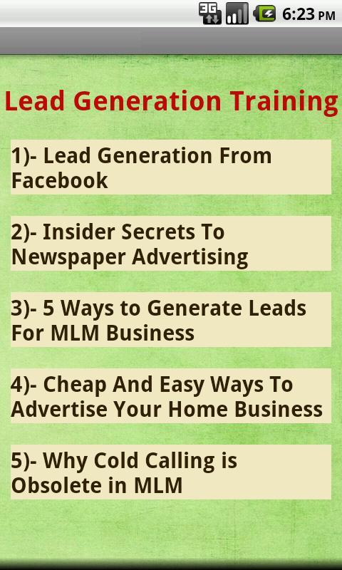 Struggling In MLM Business? - screenshot