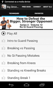 BigStrong 12, Guard Passing - screenshot thumbnail