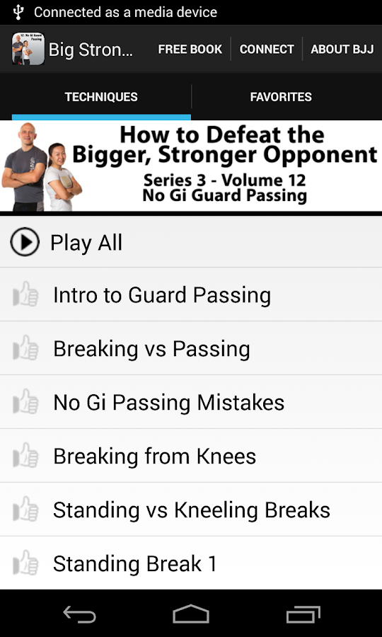 BigStrong 12, Guard Passing - screenshot