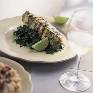 Grilled Fish in a Spicy Citrus Marinade.