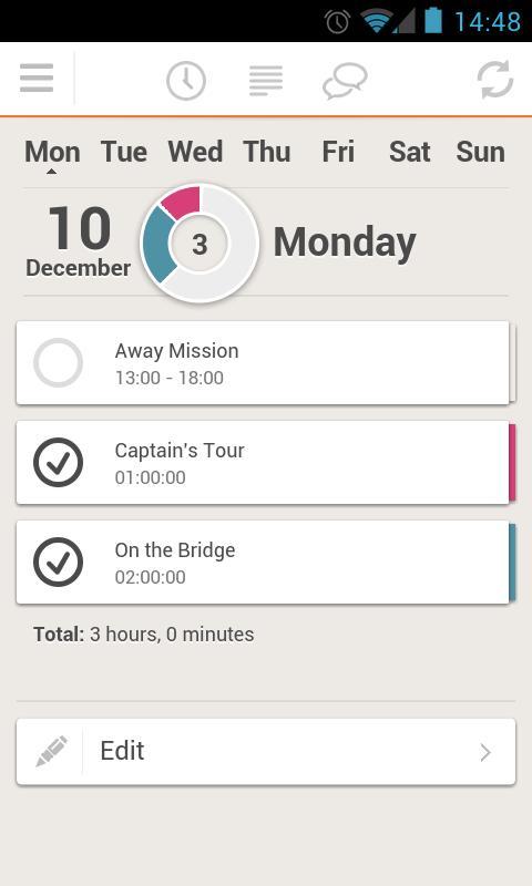 TimeZynk Pro- screenshot