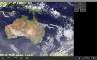 Screenshot of Meteo Sat Viewer - adfree