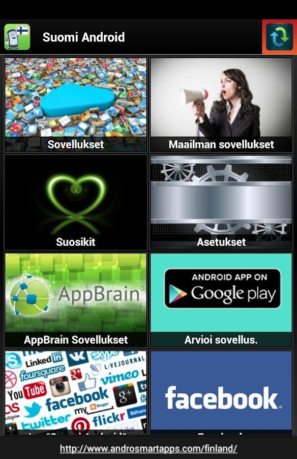 Finland Android - screenshot