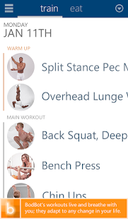 BodBot Personal Fit Trainer- screenshot thumbnail