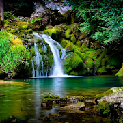 Waterfall Repples HD LWP