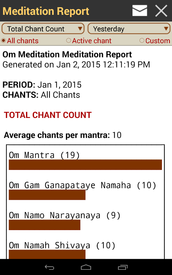 OM Meditation: Mantra Chanting - screenshot