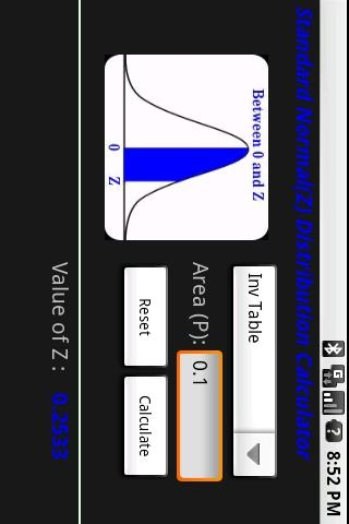 Z - Table- screenshot