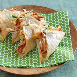 Wonton Wrapper Tacos Recipes.