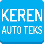 Auto Text Keren for Android