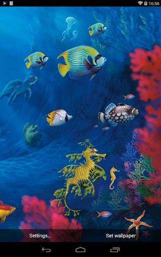 Sea Aquarium Live Wallpaper