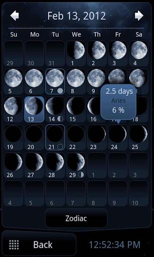 برنامج لتتبع حركة القمر Deluxe Moon v1.58