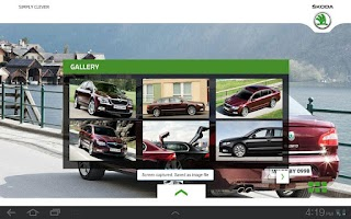 Screenshot of Skoda Superb Official App