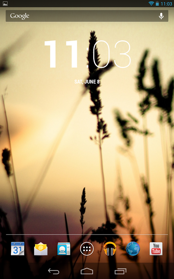 ThyrusHolo Black CM10 Theme - screenshot