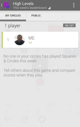 【免費解謎App】Squares & Circles-APP點子