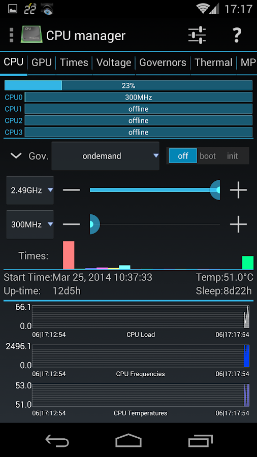 3C System Tuner- screenshot