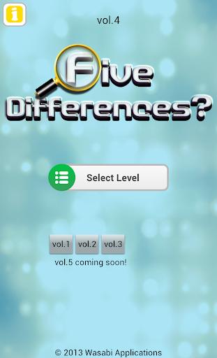 Five Differences? vol.4 1.0.6 Windows u7528 4