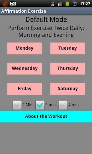 Affirmation Exercise