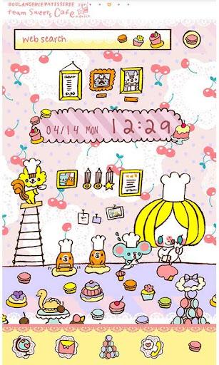 Characters Theme-Sweets Cafu00e9- 1.0 Windows u7528 1