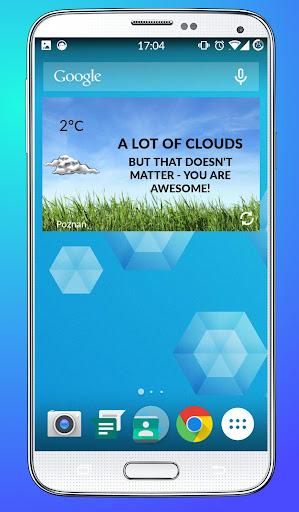 Honest Weather Widget