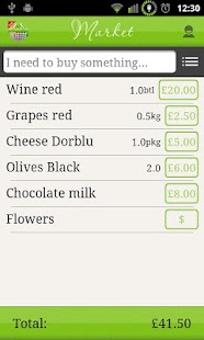 Let It Shop - Shopping List- screenshot thumbnail