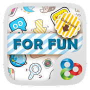 Funny Flat GO Launcher Theme