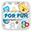 Funny Flat GO Launcher Theme icon